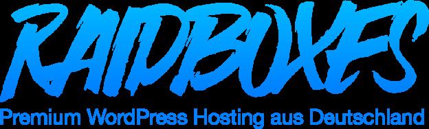 Unsere Webhosting-Empfehlung? - Na ganz klar: RAIDBOXES natürlich!