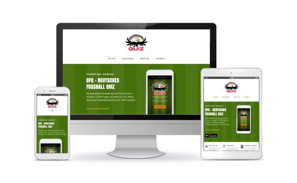 website erstellen lassen fussball app