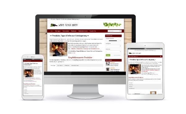 shop website erstellen lassen