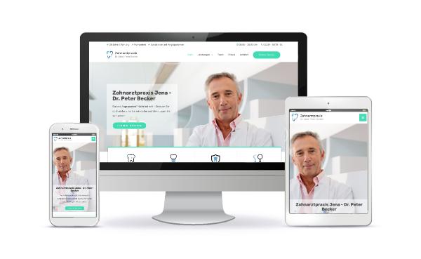 zahnarzt website erstellen lassen
