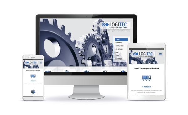 vorschau website transportunternehmen